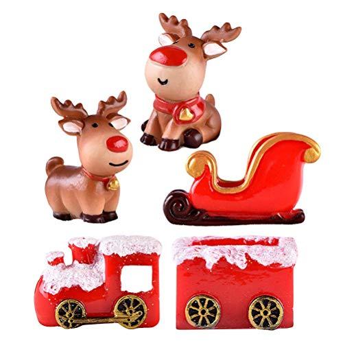 Navidad Decoración Casa Tren Marca LIOOBO