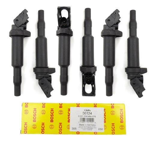 Six New Bosch BMW Ignition Coils 00124 in Original Box 0221504464 12131712219