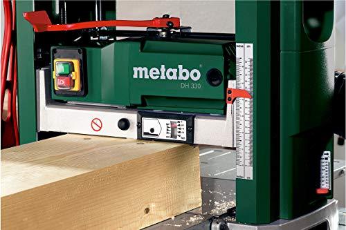 Metabo Dickenhobel DH 330, leistungsstarke Hobelmaschine für den mobilen Einsatz, leistungsstarker Universalmotor mit 1800 W, Art.-Nr. 0200033000 - 2