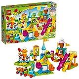 LEGO 10840 Duplo Town Gran Feria, Juguete de Construcción para Niños y Niñas a Partir de 2 años con 5 Mini Figuras