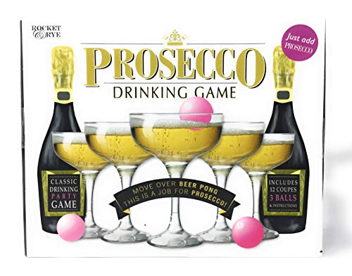 The Games Company Party Drinking Game Beer Pong / Prosecco Drinking Game / Gin Pong (Procsecco)