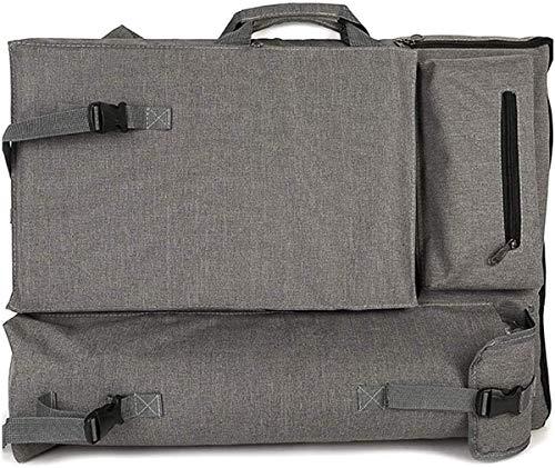 YMTECH Borsa Artistica Canvas Artist Portfolio Case Carry Backpack Bordo per Schizzi per rifornimenti artistici Conservazione e Viaggio, Borsa per opere d'Arte/Poster Board/Custodia da Disegno