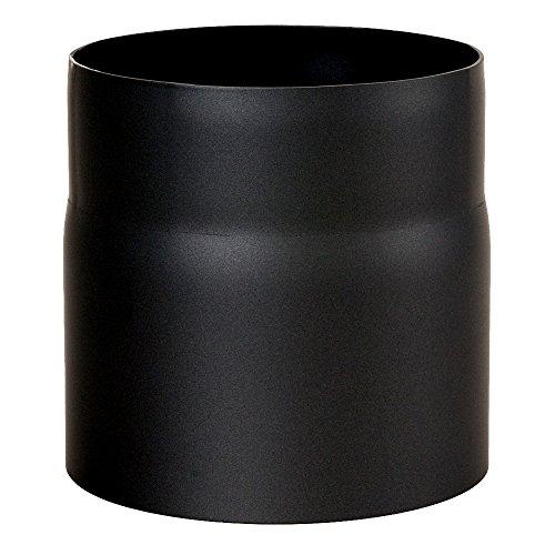MULDENTHALER Ofenrohr, Rauchrohr, Senotherm, ø 150 x 150 mm Schwarz