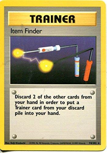 Pokemon Base Set Rare Card #74/102 Item Finder