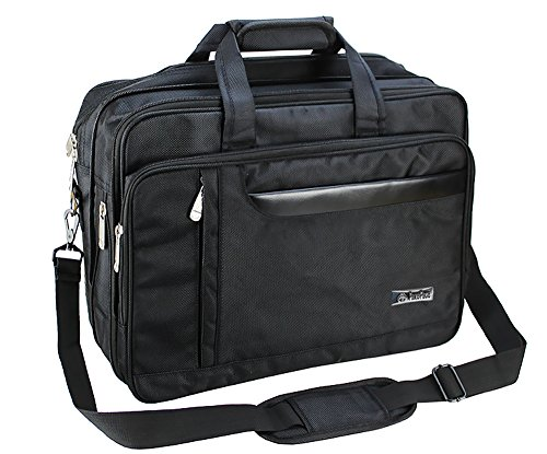 Laptop Bag, Men's Classic Carry-all Clutch Business Document Briefcase...
