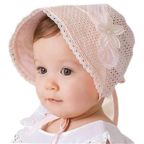Sommer-/Frühlings-Mütze für Babys, Sonnenhut für kleine Mädchen und Jungen Gr. One Size, Rose