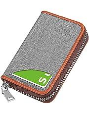 クレジットカードケース カード入れ スキミング防止 じゃばら 大容量 コインケース メンズ レディース 青いブルー…