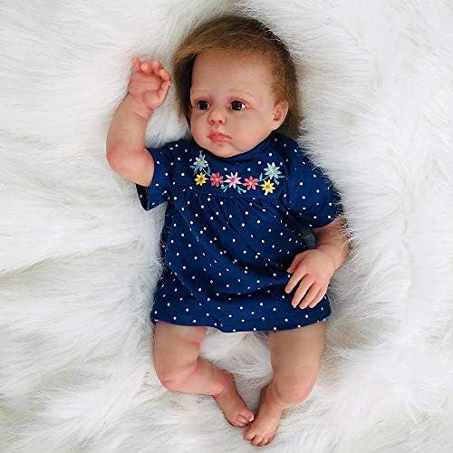SONGXM 50cm   20 inches Soft Vinyl Silikon Real Life wie Reborn Baby Puppe Neugeborenen Puppen Reborn Baby Dolls