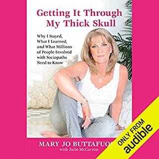 Getting It Through My Thick Skull  audiobook cover art