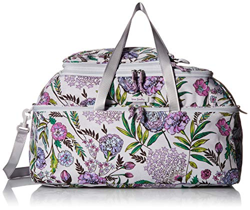 Vera Bradley Women's Lighten Up Convertible Travel Bag, Lavender Botanical