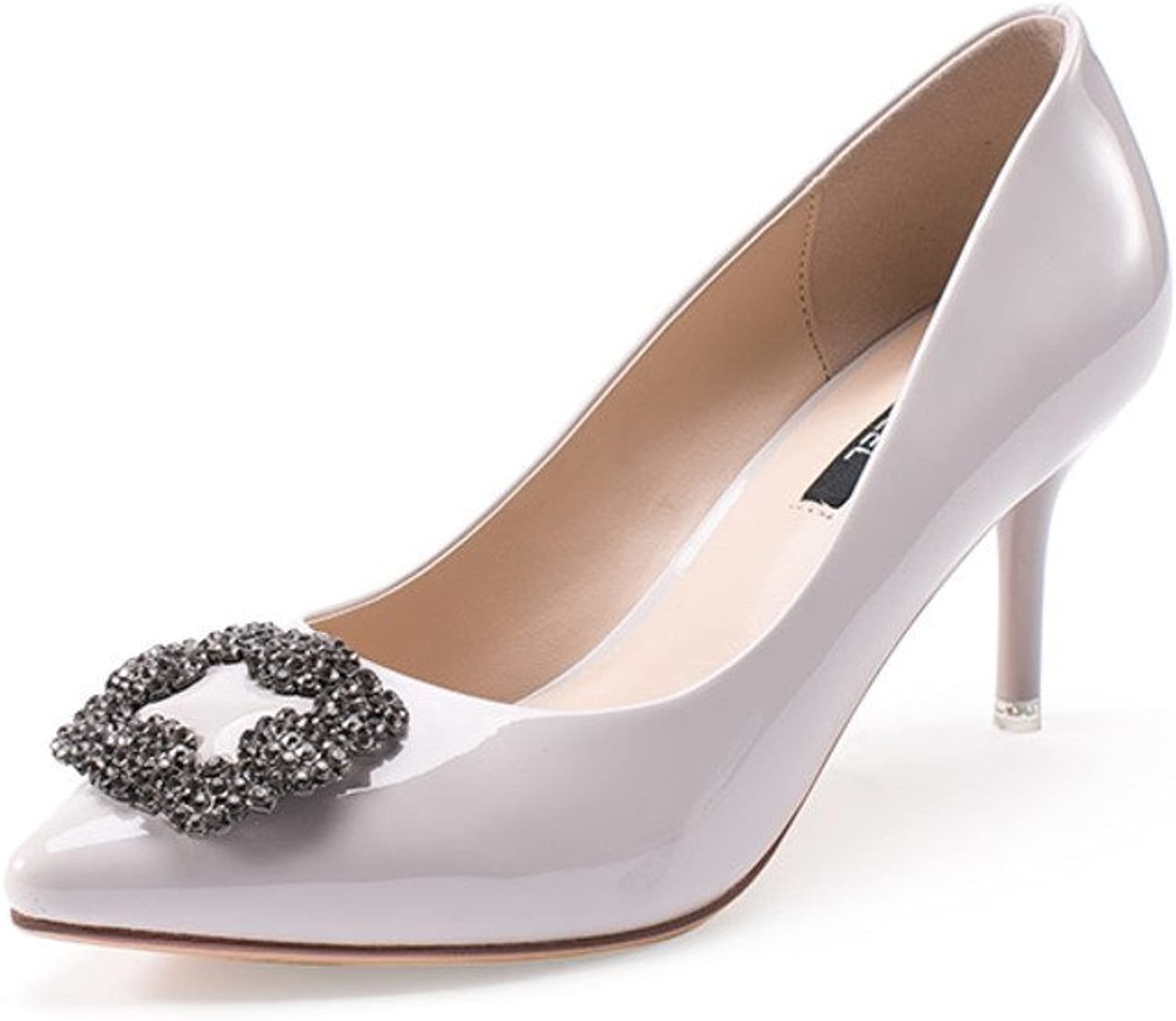 Lady,Low-cut High Heels Thin Heels,Pointed Toes Thin shoes