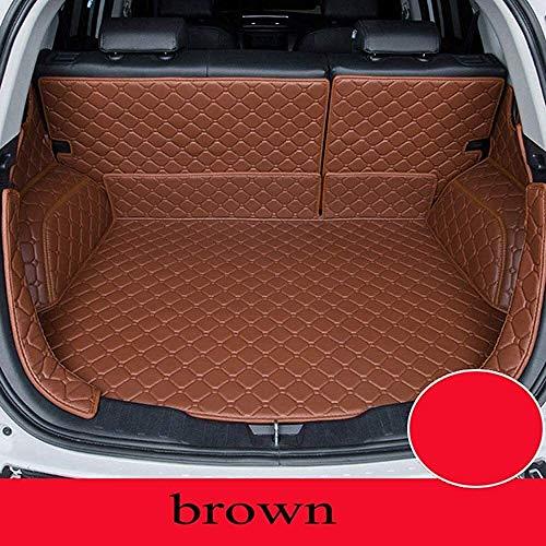 For Kia Todas modelos Niro rio K2 K3 K4 K5 Sorento cerato forte personalizados accesorios de automóvil maletero del coche de estilo estera del coche clmaths (Color : Brown)