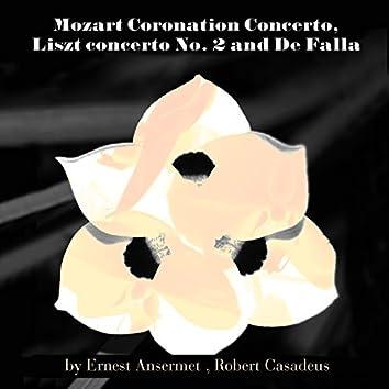 Mozart: Coronation Concerto - Liszt: Concerto No. 2 & De Falla