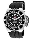 Luminox 1512 Men's Deep Dive Automatic Black Silicone Black Dial Watch