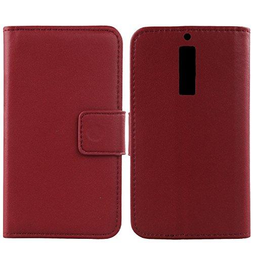 Gukas Design Echt Leder Tasche Für Elephone S3 5.2