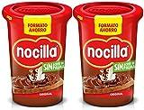 Nocilla Original: crema de cacao natural con avellanas - Sin aceite de palma - 2 envases de 650 gramos - (1.300gr)