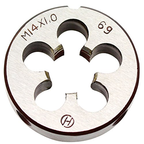 14mm X 1 Metric Right Hand Round Die, Machine Thread Die M14 X 1.0mm Pitch