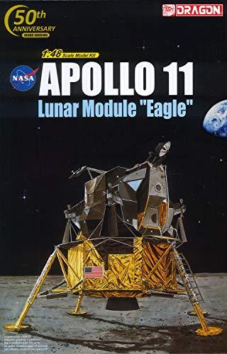 ドラゴン 1/48 NASA アポロ11号 月着陸船 イーグル プラモデル DR11008