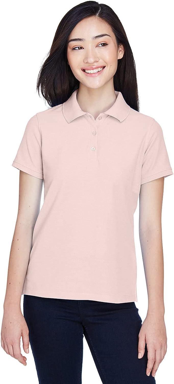 Harriton Ladies' 5 oz. Blend-Tek Polo 3XL Blush