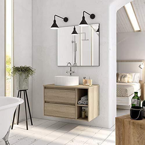 Aquareforma | Mueble de Baño sin Lavabo y sin Espejo | Mueble...