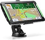 Navigatore Satellitare per Auto Camion 7 Pollici 2020 Aggiornamenti gratuiti delle mappe a vita include codici postali, avvisi autovelox e assistenza di corsia POI