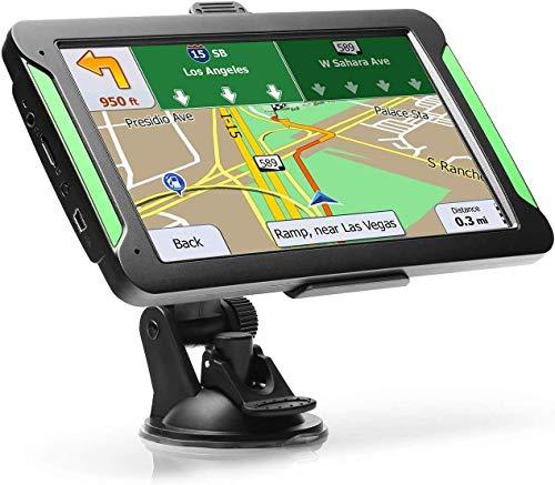 Navigatore Satellitare per Auto Camion 7 Pollici 2020 Aggiornamenti gratuiti delle mappe a vita...