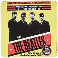 The Beatles コースター Live Port Sunlight ポスター 新しい 公式 9.5Cm X 9.5Cm Single