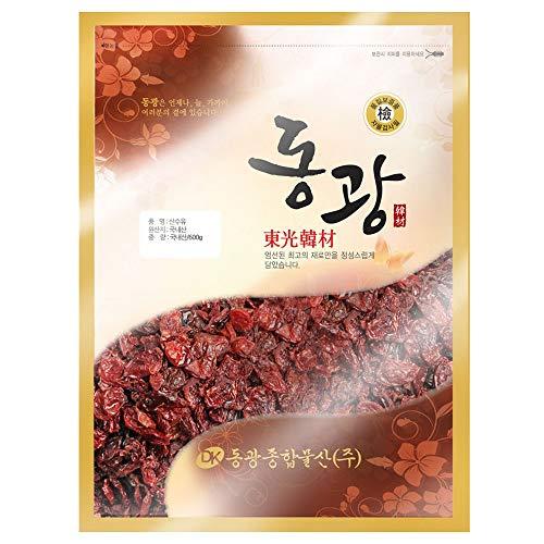 Cornus Officinalis 600g Korean 산수유 山茱萸 | Cornelian Cherry | Dogwood | Shan Zhu Yu