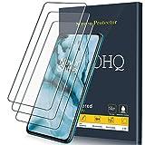 QHOHQ Protector de Pantalla para OnePlus Nord 5G, [3 Unidades], Cristal Templado Membrana, 9H Dureza - Sin Burbujas - Anti-Huella - Anti-Arañazos