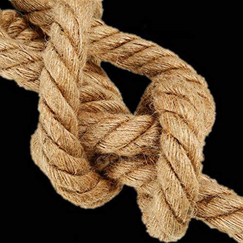 Meisijia 1 m / 1,5 m Jefes Simple/Doble Cuerda del cáñamo E27...