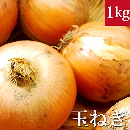 玉ねぎ 1kg 無農薬・無化学肥料・北海道産