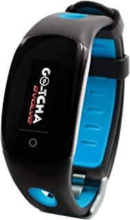 Datel Go-Tcha Evolve LED Touch Smartwatch for Pokemon Go Auto Catch Collecting Item with Time Clock Pedometer Function - Blue