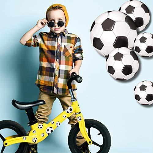 Wandtattoo Loft Fahrradaufkleber 38 STK. Fußbälle Fußball Junge Fahrrad Sticker Fahrraddesign Kinderfahrrad