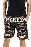 Pyrex Pantalone Corto Rete Camouflage