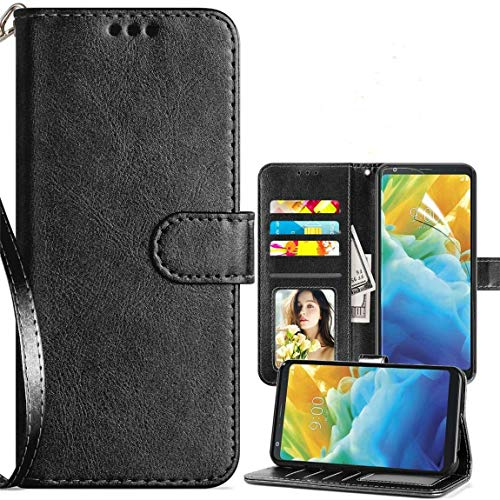 LG Stylo 5 Leather Magnetic Case by Cmore