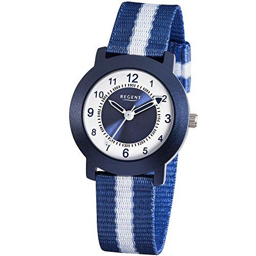 REGENT 12400215 - Reloj , correa de tela color azul