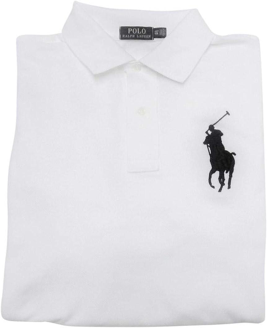 Men's Big and Tall Big Pony Mesh Polo Shirt