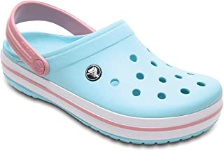 Crocs Women's Crocband Clog | Comfort Slip On Casual Water Shoe | Lightweight