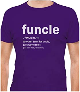 Tstars - Funny Uncle Funcle Definition Gift for Uncles T-Shirt