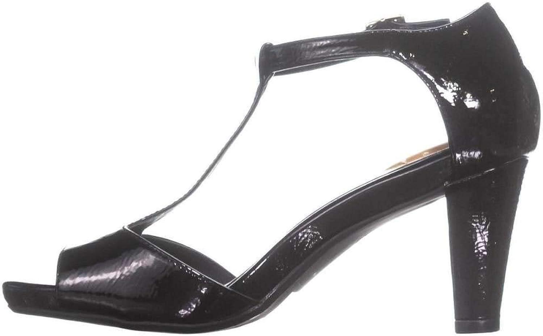 Giani Bernini Womens Claraa Open Toe Casual T-Strap Sandals
