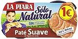 La Piara - Sólo Natural - Paté suave de hígado de cerdo - 2 x 75 g