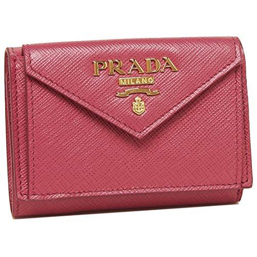プラダ(PRADA)3つ折り財布1MH021QWAF0505サフィアーノメタルピンク[並行輸入品]