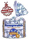 Stroopwafel & Co: Max & Alex holandés Stroopwafels Stroopwafels europeos, 8 piezas en bolsa 250 g