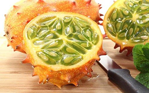 Kiwano Cucumis Metuliferus Horned Jelly Melon Melano 25Seeds...