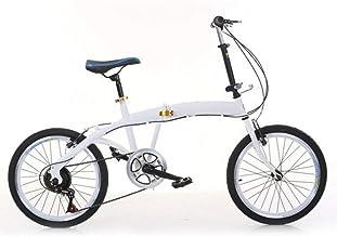 Bicicleta plegable de viaje, 7 velocidades, 20 pulgadas