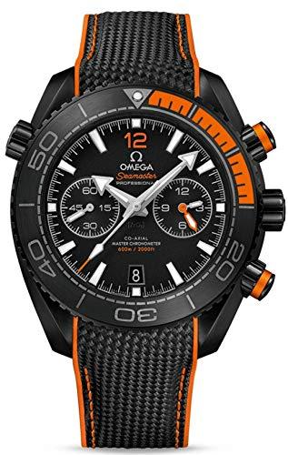 Omega Seamaster Planet Ocean Cronografo automatico quadrante nero Mens Watch 215.92.46.51.01.001