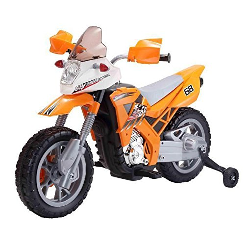 TURBO CHALLENGE MGM Grand - Moto Cross Naranja Eléctrico, 119069, Talla única