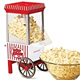Nostalgia OFP521 Vintage Healthy Hot-Air Tabletop Popcorn Maker, Makes 12 Cups, with Kernel...