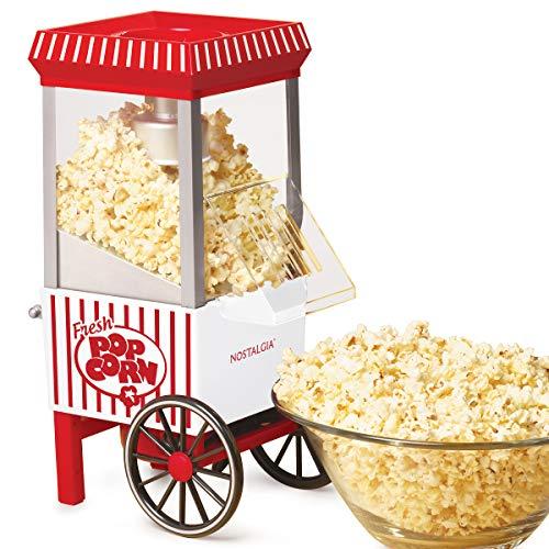 Nostalgia Vintage Healthy Hot-Air Tabletop Popcorn Maker