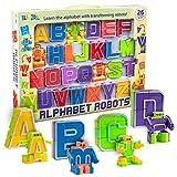 BleuZoo Alphabet Robots Action Figure Alpha-Bots Educational ABC Letters Preschool Learning Stem...